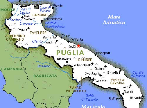 Link to Le destinazioni italiane preferite dell&#8217;estate: la Puglia sugli scudi.